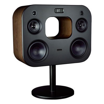 """Fluance Wireless High Fidelity Music System with Powerful Amplifier 8"""" Subwoofers (Natural Walnut) (061783264041)"""