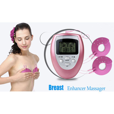 Natural Breast Enhancer - Electrical Pulse Digital Enhancing Massager for Breast Growth - Drug Free - Certified and RoHS Tested