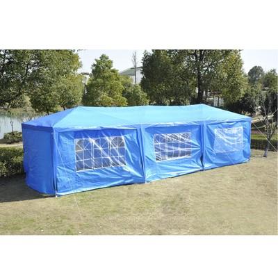 10' x 30' Gazebo Party Tent - Blue