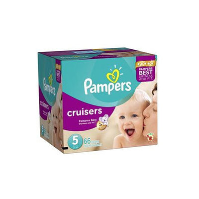 Pampers Cruisers Diapers - Size 5 66 Diapers - Size 5 - Super Pack