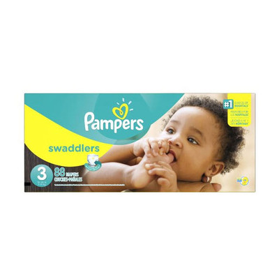 Pampers Swaddlers Diapers - Size 3 88 Diapers - Size 3 - Super Pack