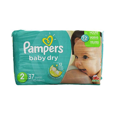 Pampers Baby Dry Diapers - Size 2 37 Diapers - Size 2 - Jumbo Pack