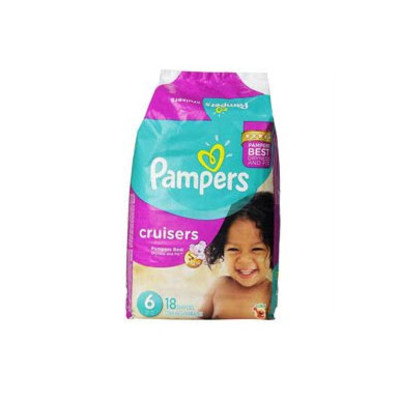 Pampers Cruisers Diapers - Size 6 18 Diapers - Size 6 - Jumbo Pack