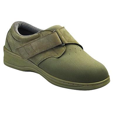 Orthopedic Footwear - Ortho Feet Women's Witchita Hook and Loop Velcro Washable Taupe