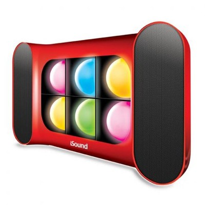 Dreamgear ISOUND-5268 iGlow Pro Bluetooth Speaker with Dancing Lights and Rechargeable Battery (845620052684)