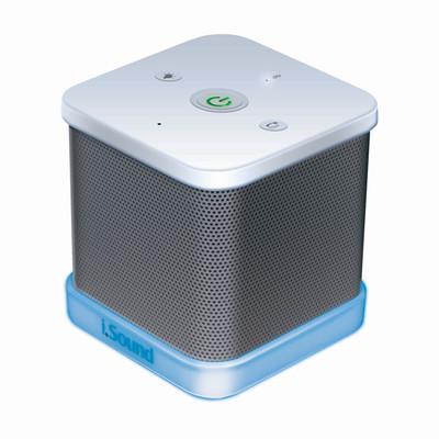Dreamgear DG-iSound-5387 Iglowsound Cube - White (845620053872)