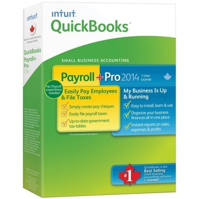 Intuit QuickBooks Pro 2014 with Payroll (Canadian version)
