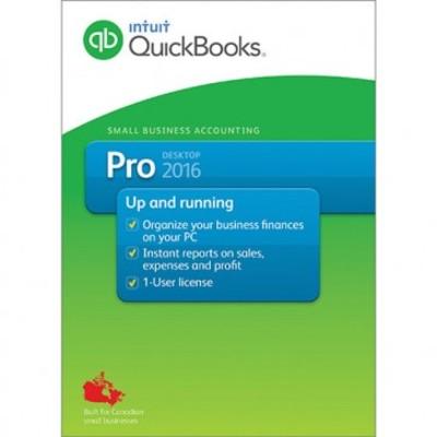 Intuit QuickBooks Professional 2016 (Canadian version)