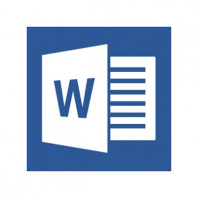 Microsoft Word 2013 Open Business