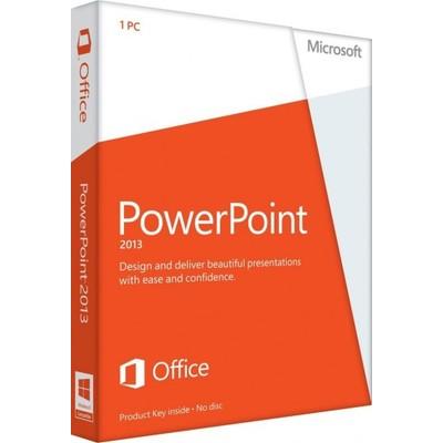 Microsoft PowerPoint 2013 Key Card