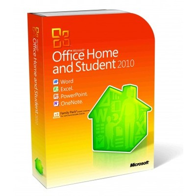 Microsoft Office 2010 Home and Student for 3 PC Retail Box