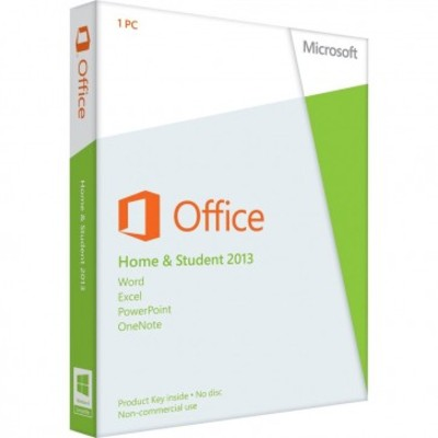 Microsoft Office 2013 Home and Student Key Card