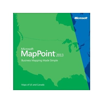 Microsoft MapPoint 2013 Open Business with Software Assurance