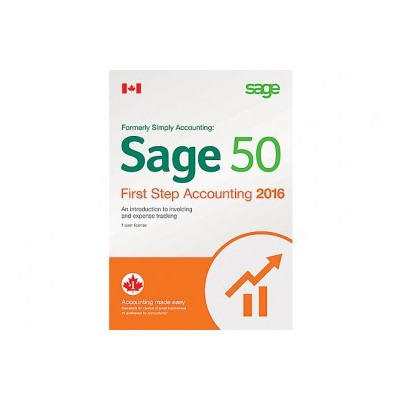 Sage 50 2016 First Step Accounting (Bilingual)
