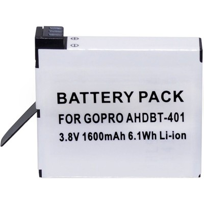 Lithium-ion replacement battery for GoPro HERO 4 (White)   (818795017543)