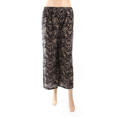 Luxanne Dark Plain Loose Pants One Size
