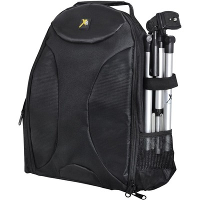 Deluxe Digital Camera/Video Padded Backpack, Black
