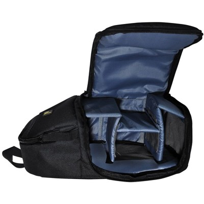 Deluxe Digital Camera/Video Sling Style Shoulder Bag, Black
