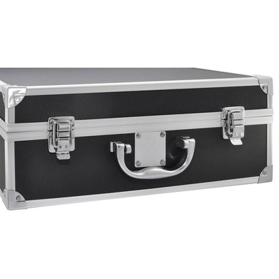 Small Hard Photographic Equipment Case with Carrying Handle (Black)