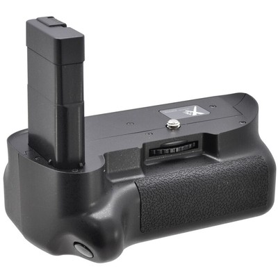 Pro Series Battery Grip for the Nikon D5100, D5200 and D5300 Digital SLR Cameras (Black)