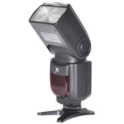 Elite Series Digital SLR Auto-Focus Power Zoom E-TTL Flash with LCD Display, Bounce/Swivel for Nikon DSLR, Black