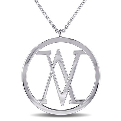 Insignia Necklace in Sterling Silver