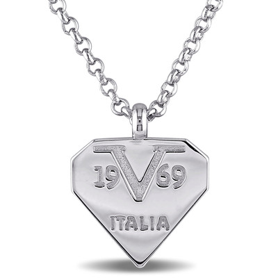 Logomark Necklace in Sterling Silver