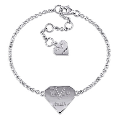 Logomark Bracelet in Sterling Silver