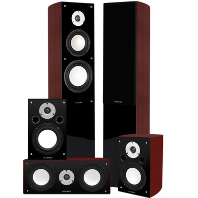 XL5HTB High Performance 5.0 Surround Sound Home Theater Speaker System (061783265413)