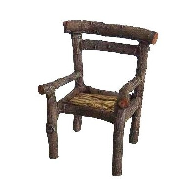 Fairy Garden - Log Chair