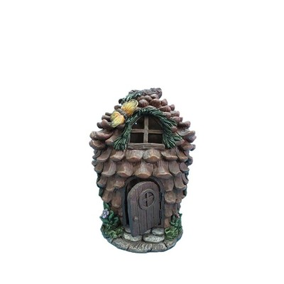 Fairy Garden - Pinecone House with Butterfly