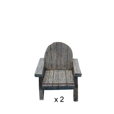 Fairy Garden - Lawn Chair 2 Piece Set