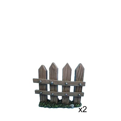 Fairy Garden - Fence 2 Piece Set Large