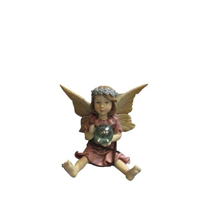 Fairy Garden - Fairy Sitting/Holds Ball
