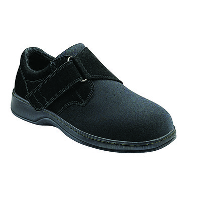 Orthopedic Footwear - Ortho Feet Men's Bismark Black Medium Width Ref 525M
