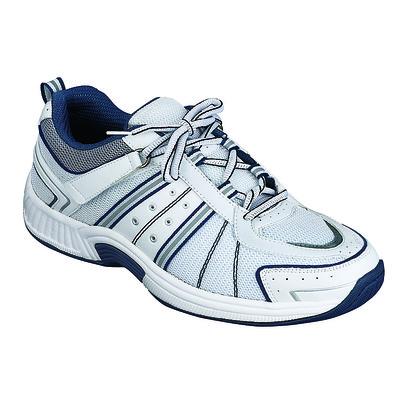 Orthopedic Footwear - Ortho Feet Men's Athletic Monteray Bay White Ref610M