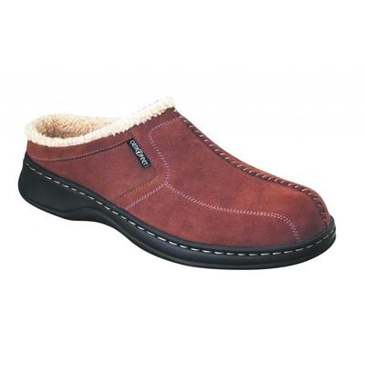 Orthopedic Footwear - Ortho Feet Men's Slippers Brown RefS331M