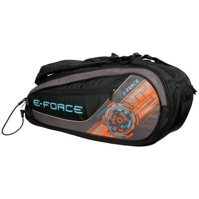 E-Force 2016 Racquetball CLUB Bag, Black/Orange