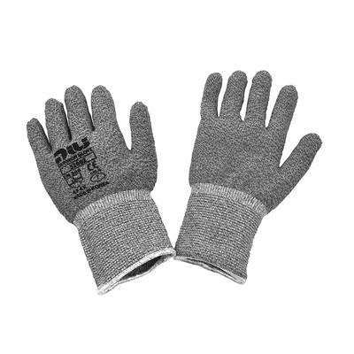 Dukwon Glove 5200Z Glass Fiber Cut Resistance Gloves, Light Grey, 6/Pack