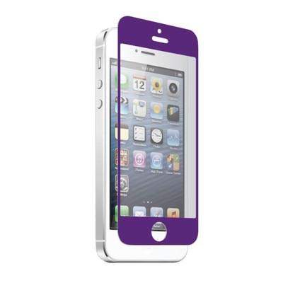 Apple iPhone 5 Nitro Glass Screen Protector - Purple (700358618932)
