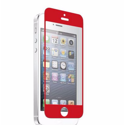 Apple iPhone 5 Nitro Glass Screen Protector - Red (700358618925)