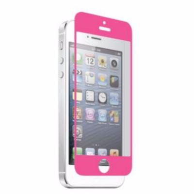 Apple iPhone 5 Nitro Glass Screen Protector - Pink (700358618918)