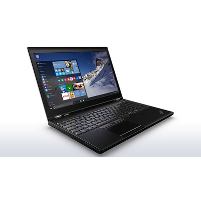 Lenovo ThinkPad P50 - Core i7 6820HQ / 2.7 GHz - Win 7 Pro 64-bit - 16 GB RAM (20EN001EUS)