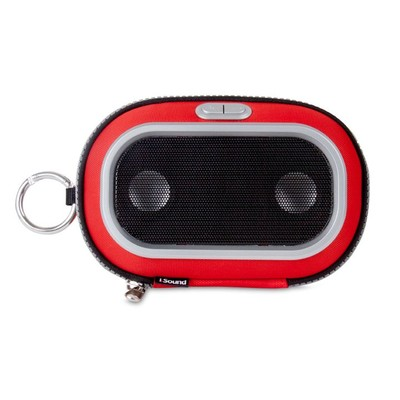 iSound Concert To Go Portable Speaker Case (red) (845620016730)