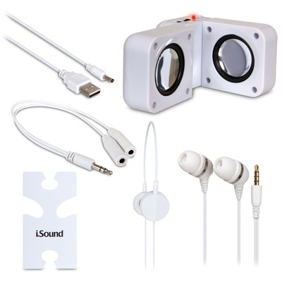iSound 5-in-1 Travel Sound (White) (845620016150)