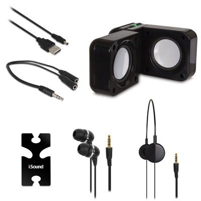 iSound 5-in-1 Travel Sound (black) (845620016143)