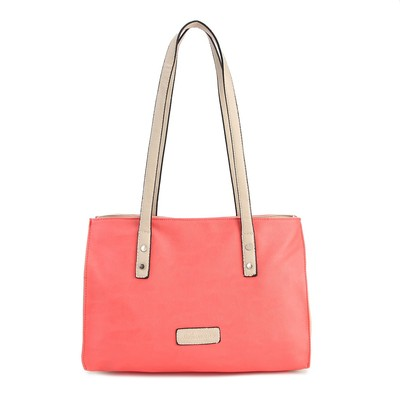 Luxanne Spring Patch Blush Tote Bag