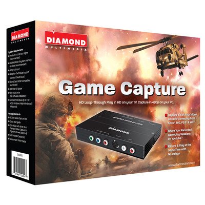 Diamond Multimedia Game Capture (GC500), HD Video Capture Box, English (DM-GCTV-GC500)