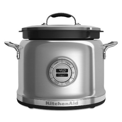KitchenAid Multicooker - Stainless Steel - 4 qt - w/Stirring Tower