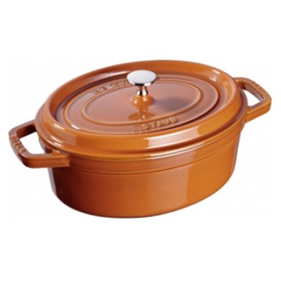 Staub French Oven - Oval - Cinnamon - 5.5 L